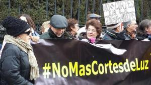 Protesta ante la Subdelegación del Gobierno.