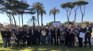Participantes en el encuentro de Roma.