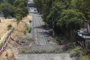 Granada cumple este 7 de abril dos años de aislamiento ferroviario.