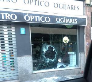 Imagen de uno de los últimos establecimientos atracados.