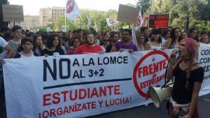 Imagen de la manifestación celebrada en octubre del pasado año.