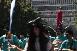 La Tarasca, por las calles de Granada,