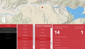 Referencia a la fosa de Pinos Genil en el Mapa de Fosas de Andalucía.