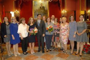 El alcalde ha presidido la entrega de los premios.