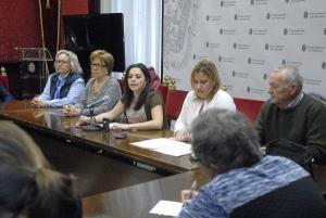 Jemi Sánchez, en una actividad de su concejalía.