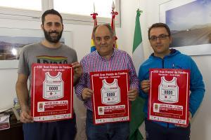 El alcalde con Sergio Delgado y Jorge Moreno.