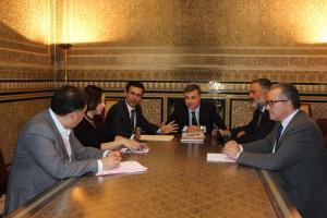 La reunión se ha celebrado en la Subdelegación del Gobierno.