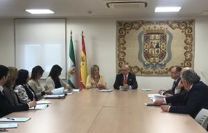 La fiscal superior, Ana Tárrago, ha presidido el encuentro.