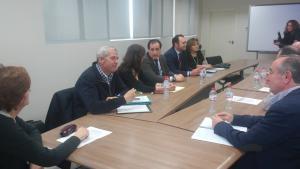 Imagen de la reunión celebrada este jueves.