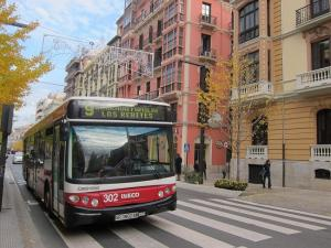 Imagen de archivo de un autobús de la Rober.