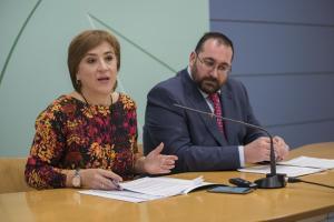 Sandra García y Germán González.