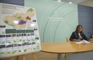 La delegada de Medio Ambiente presenta las actividades en los espacios naturales.