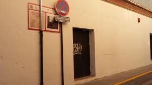 Uno de los accesos traseros de la Sala Prince.