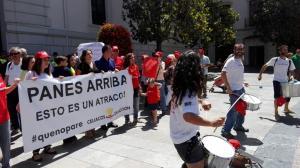 La marcha finalizó en la Plaza del Carmen.