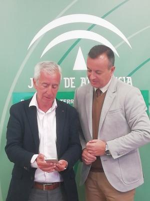 Higinio Almagro y José María González.