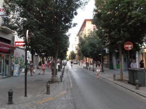 Calle San Juan de Dios.