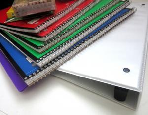 Materiales escolares.