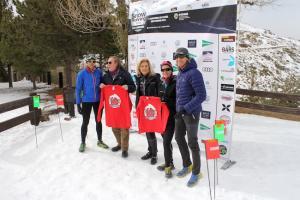 Presentación del II Campeonato de España de Snow Running.