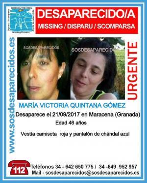 Perfil de la mujer que se busca en SOS Desaparecidos.