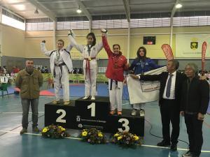 Andrea Fernández se ha proclamado campeona de Andalucía.
