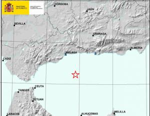 Imagen facilitada por el Instituto Geográfico Nacional.
