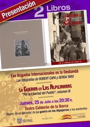 Los libros se presentan este jueves en el Teatro Calderón de Motril.