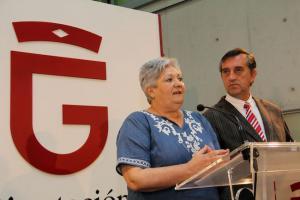 María Ángeles Blanco y Manuel Gómez.