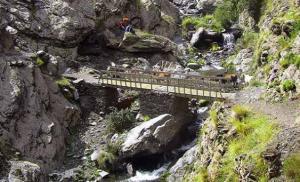 Vereda de la Estrella, puente sobre el río Guarnón.