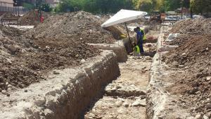 Los trabajos de excavación se prolongarán hasta el 16 de agosto.