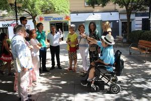 Visita de los concejales del PP al Barrio Fígares.