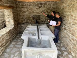 El lavadero fue construido a principios del siglo XIX.