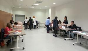 Votaciones para la Junta de Enfermería.