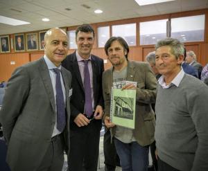 Representantes de la asociación granadina y de la Cámara de Almería.