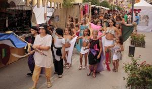 Mucho público en el Zoco Andalusí.