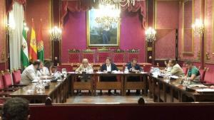 Reunión de la comisión informativa.