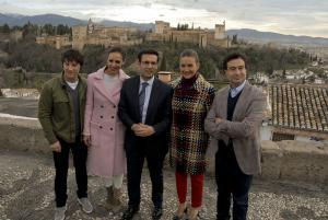 Jordi Cruz, Eva González, Samantha Vallejo-Nágera y Pepe Rodríguez.