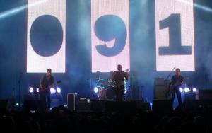 Los 091 en su concierto en Motril.