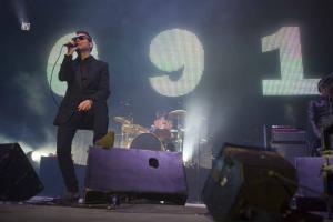 Los Cero, en el concierto del pasado viernes en Granada.