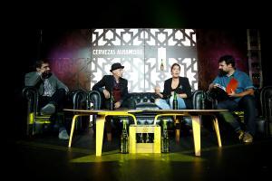 Presentación en Madrid del retorno a los escenarios de Omega.
