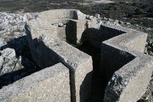 Observatorio de artillería, muy bien conservado.