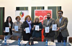 Representantes del consorcio de la OCG y de la empresa patrocinadora del programa.