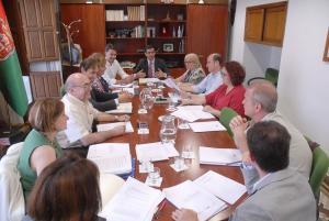 El alcalde ha presidido su primer consejo rector del Consorcio Granada para la Música.