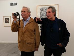 Ricardo Martín y Miguel Ríos, este lunes en el Cuarto Real.