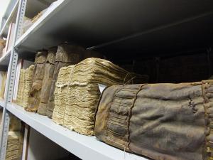 Entre otros, el archivo alberga protocolos notariales de más de cien años.