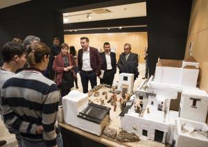 Presentación de la exposición en el Rey Chico.