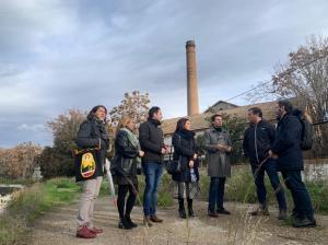 Visita de los concejales socialistas a Bobadilla.