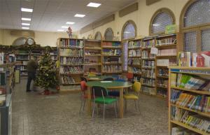 Biblioteca del Paseo del Salón.