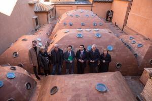 Los trabajos han sido dirigidos por Pedro Salmerón, que ha visitado las estancias con los representantes de la Junta y el Ayuntamiento.