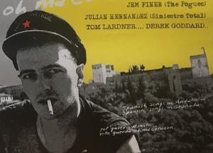 Del cartel del homenaje a Joe Strummer, el 20 de agosto de 2003.
