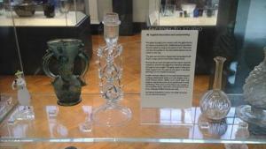 Piezas de Castril que se exhiben en elVictoria and Albert Museum.